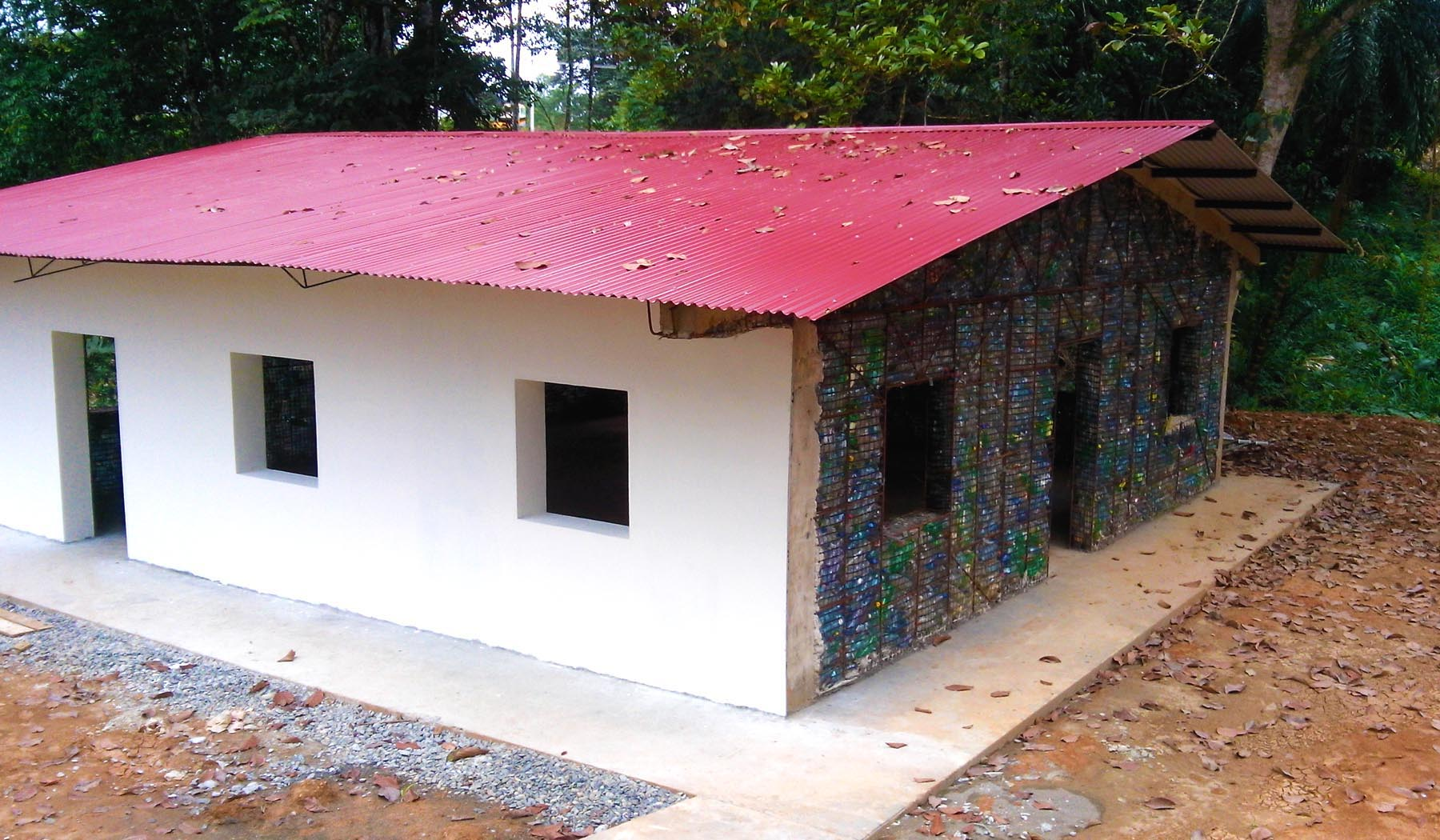 Worlds first Plastic Bottle Village to recycle over a
