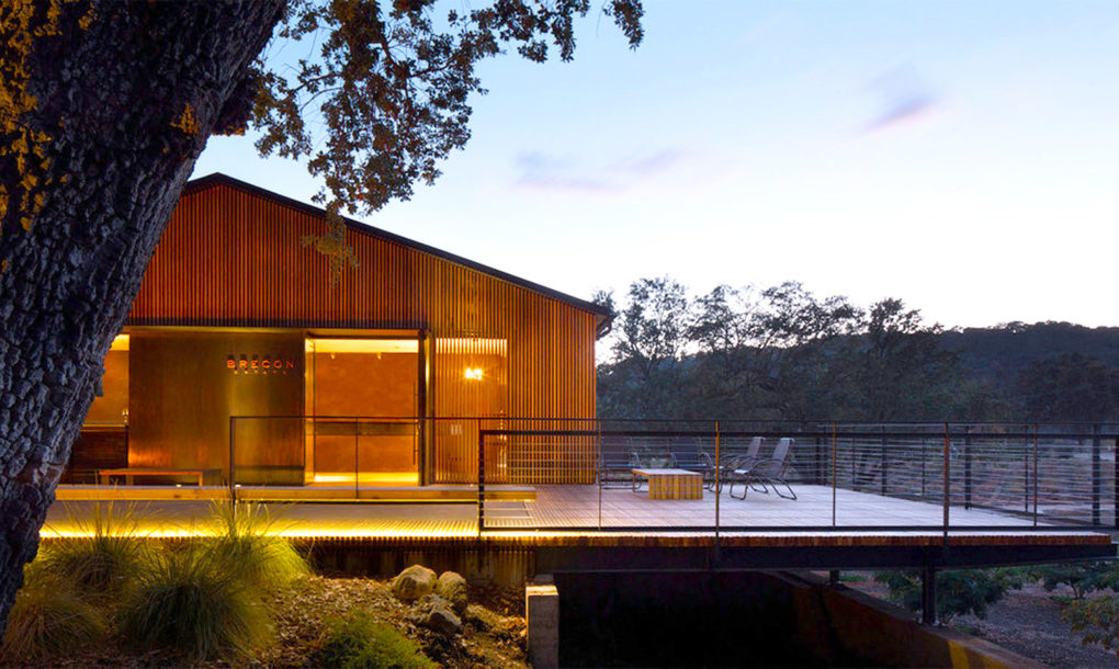 Aidlin Darling gave Brecon Estate Winery a simple and
