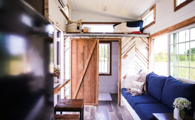 Lamon Luther Tiny House Wood Inhabitat Green Design