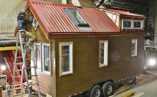 Wildlife Biologists Take A Tiny House Research Base On