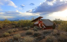 Taliesin West Students Built Protective Desert Shelters
