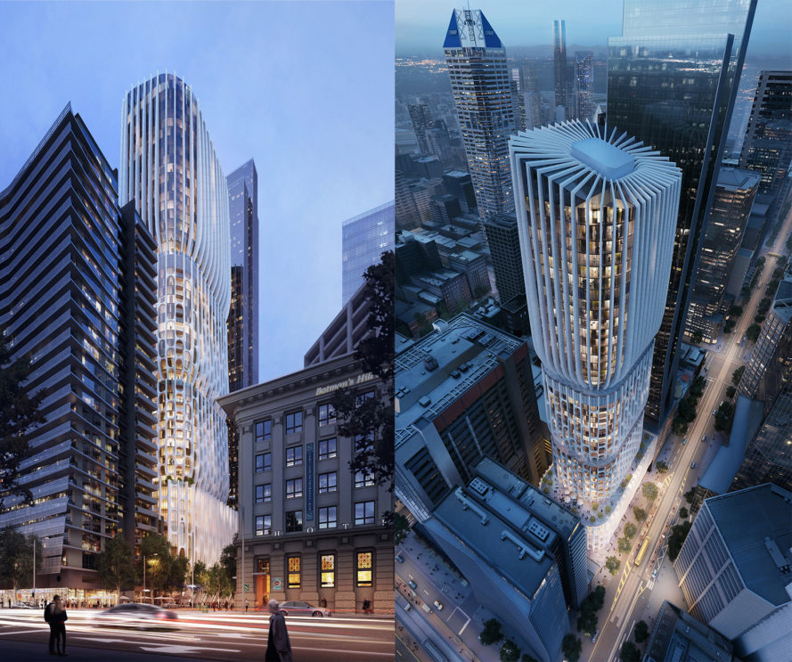 Apartments Less Than 600 Zaha Hadid Architects' Melbourne High-rise Will Use 50