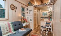 Towable Riverside tiny house packs every conventional ...