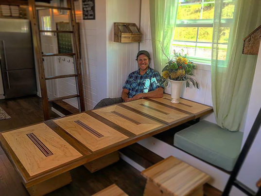 Tiny House Nation's Zack Giffin will teach veterans to build their own homes Operation Tiny House Veteran Housing – Inhabitat - Green Design ...