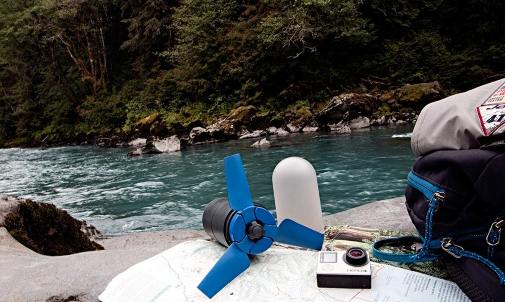 Estream is the worlds smallest hydro power plant