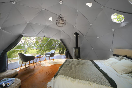 Create Your Own Backyard Geodesic Dome With F Domes