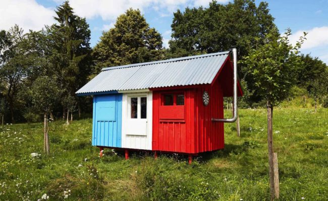 France Is A 1 200 Tiny House That Snaps Together In