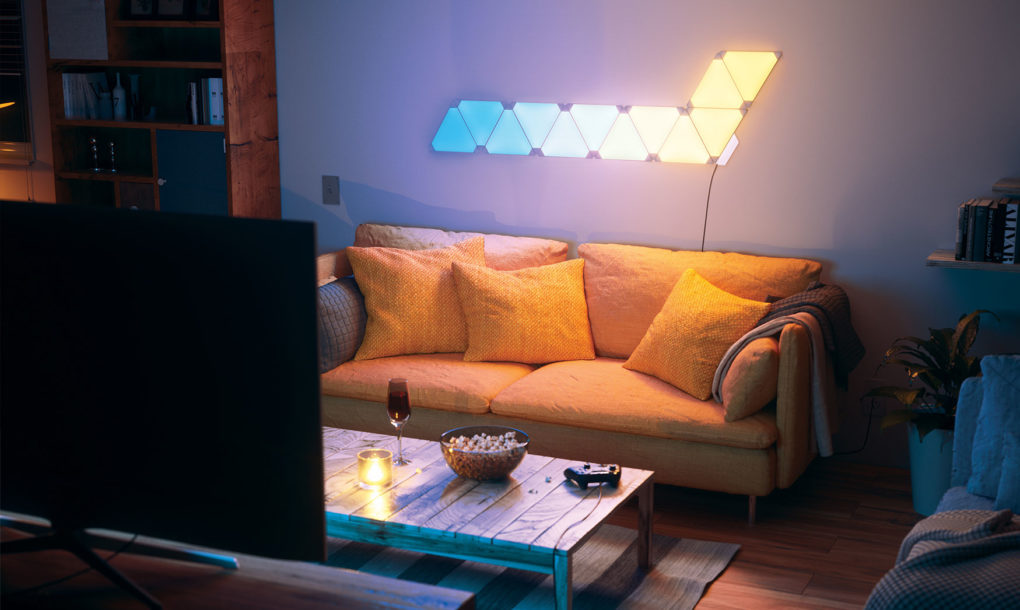 Add A Splash Of Living Paint To Your Walls With Nanoleaf