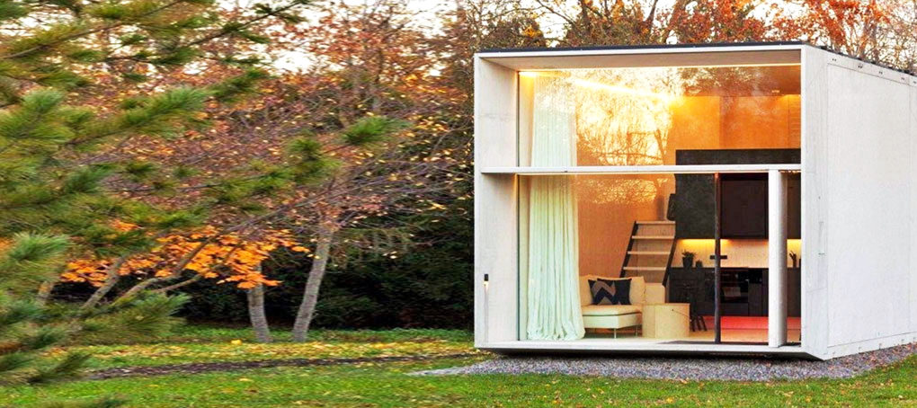 KODA is a tiny solarpowered house that can move with its