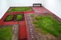 Martin Roth rug lawn installation Korean Cultural Centre