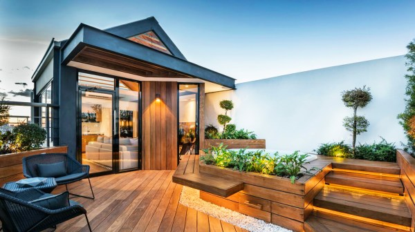 Homes with Rooftop Gardens