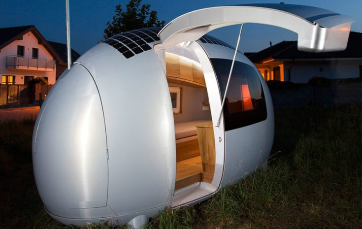 Ecocapsule, off-grid ecocapsule, tiny home, tiny house, mobile tiny home