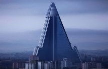 World Tallest Building in North Korea