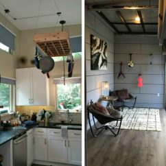 Denim Living Room Furniture Sofas Amplified Tiny House Lets Musician Homeowner Rock Out In ...