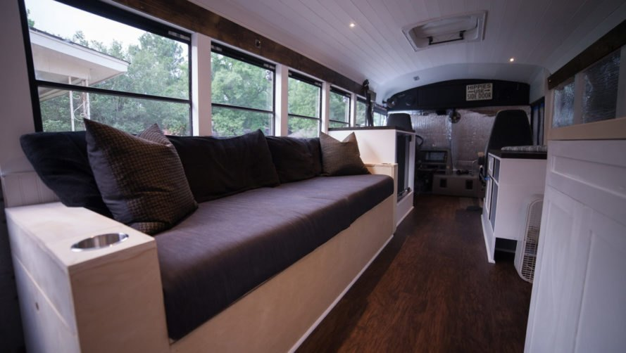 Solarpowered home on wheels frees US couple from the 95