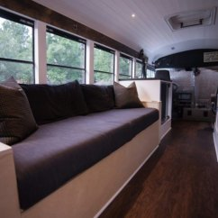 Traveling Kitchen Shallow Cabinets Solar-powered Home On Wheels Frees Us Couple From The 9-5 ...