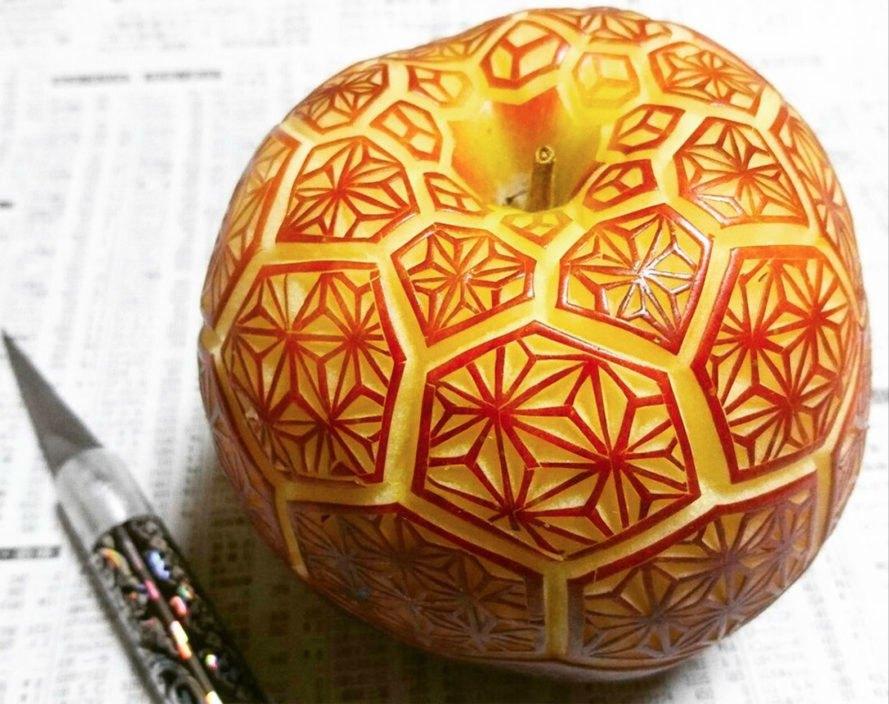 japanese food artist carves
