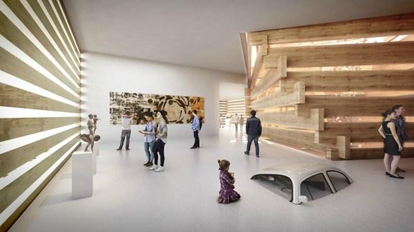 Kengo Kuma' Turkish Art Museum Of Stacked Timber