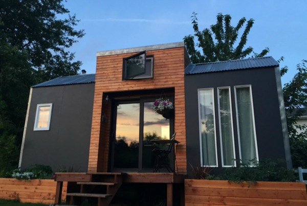 Amazing Light-filled Tiny House Packs Big Style