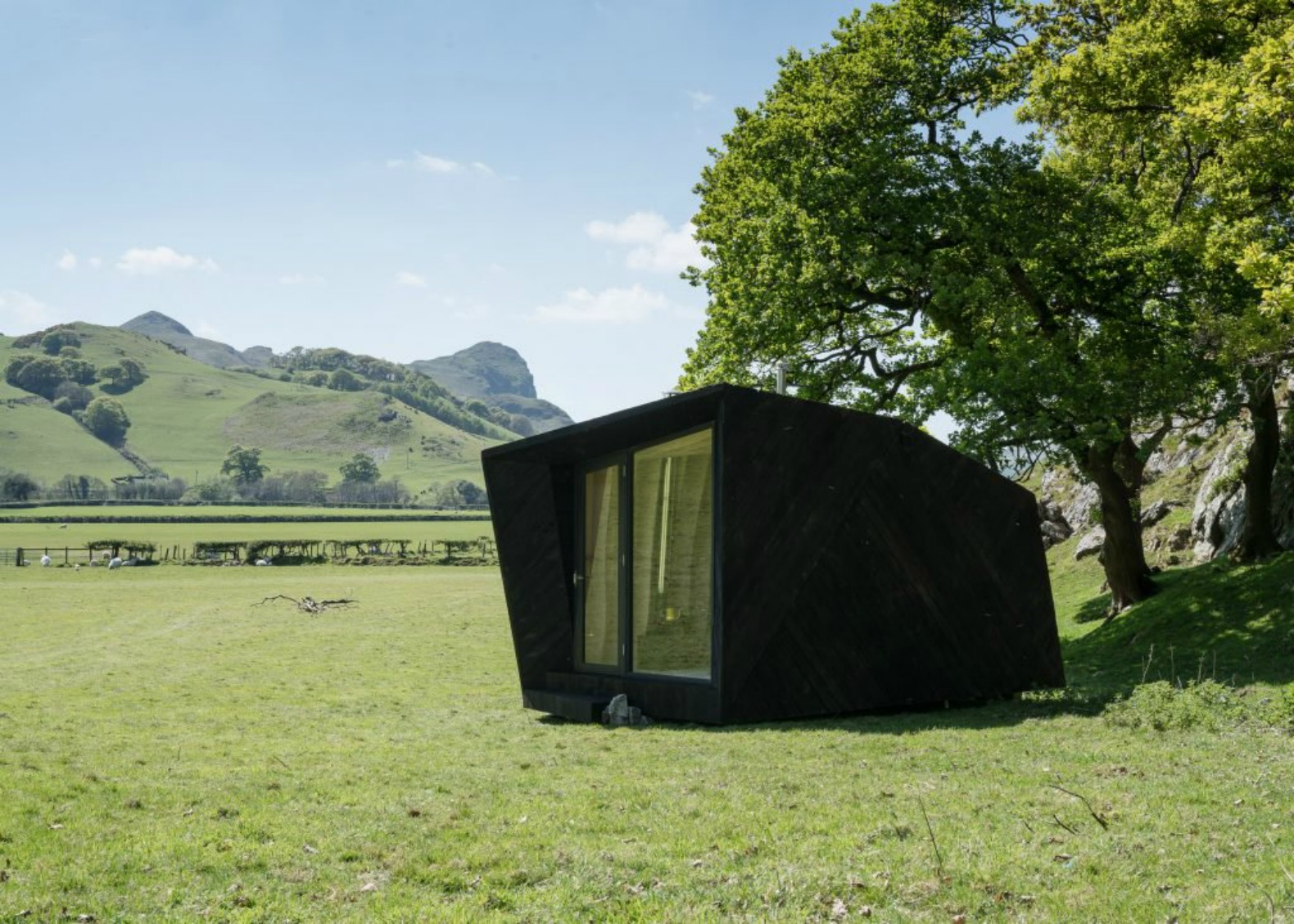 8 tiny folkloreinspired cabins pop up in the Welsh