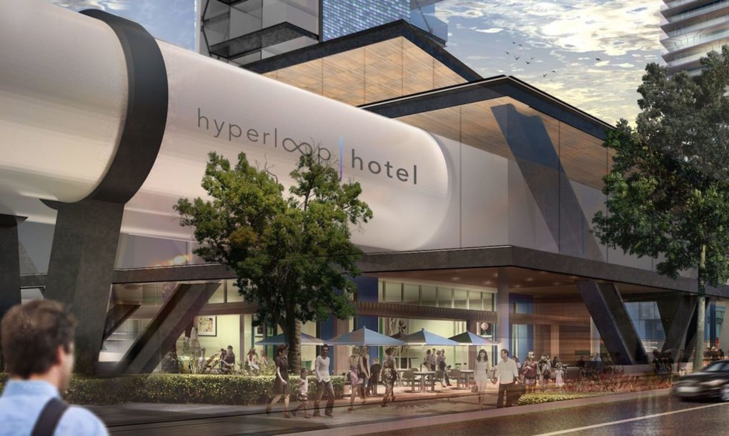 Elon Musk Inspired Hyperloop Hotel Could Be The Future Of