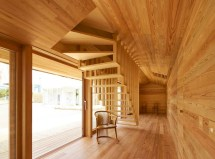 Minimalist Yoshino Cedar House Built