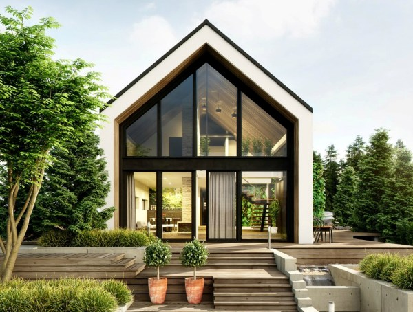 Greenhouse- 'cabin In Woods' Features Lush