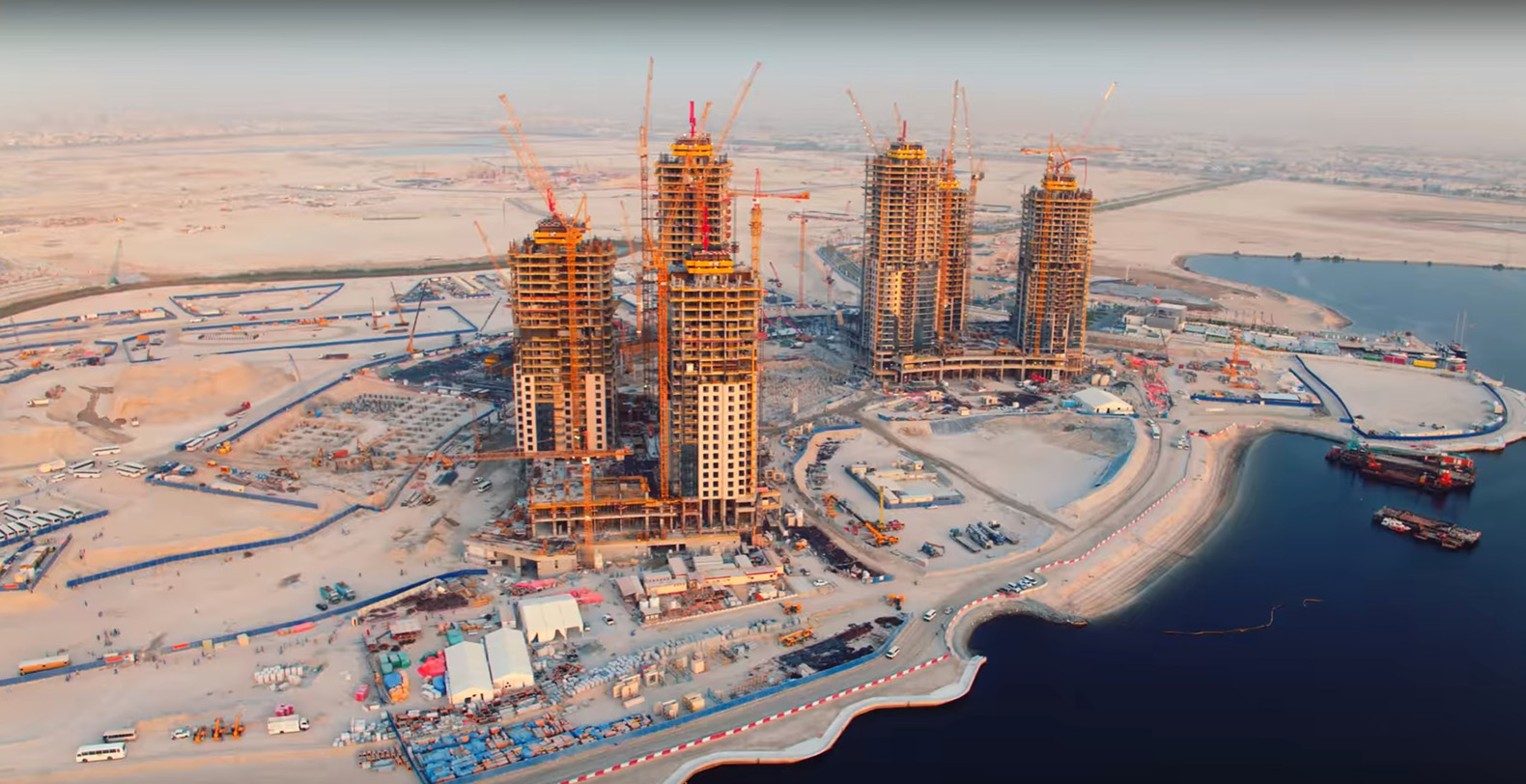 New Dubai Creek Tower images show progress on the next worlds tallest building