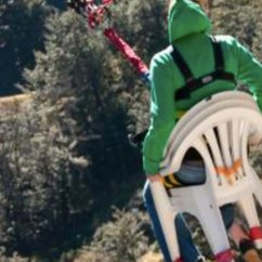 Swing Chair Over Canyon Best For Pc Gaming Ride The Of Death On World S Highest Cliff Drop