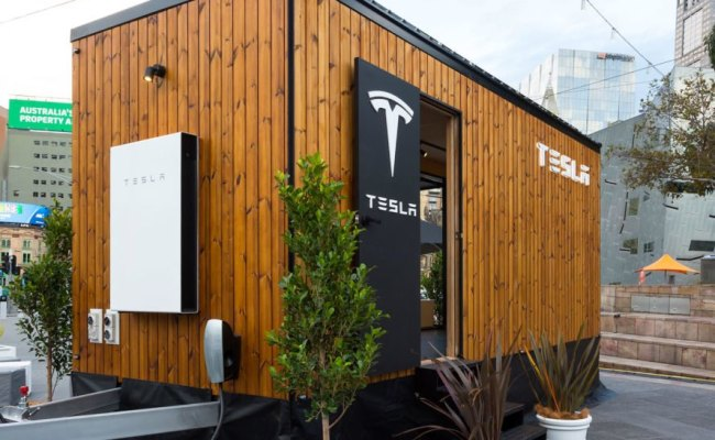 Solar Powered Tesla Tiny House Hits The Road In Australia