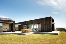 Angular Cedar-clad Home In Zealand Designed