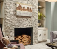 Fireplace Natural Stone - Home Design