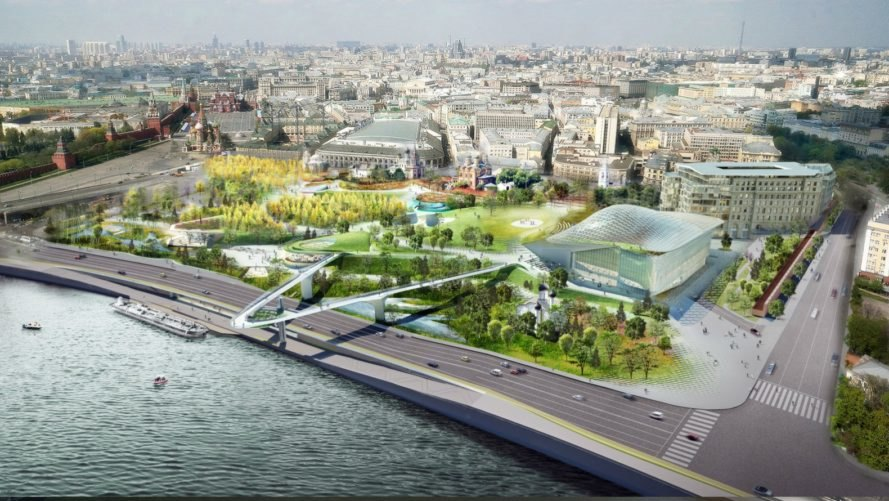 Diller Scofidio  Renfro open Moscows first public park