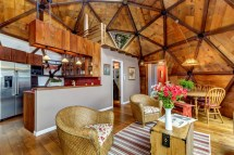 Geodesic Dome Homes Interiors
