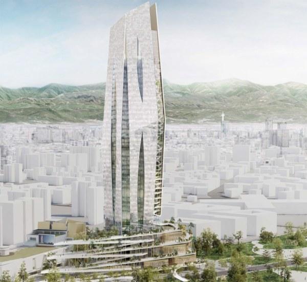 Futuristic Tower Designs