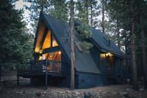 Modern a Frame Cabin Design