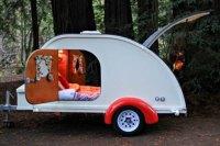 Camp Weathered lets you rent a vintage teardrop camper for ...