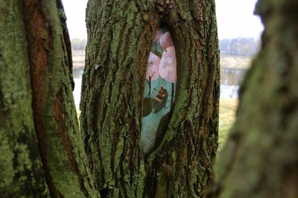 Russian Artist Paints Magical Fairytale Artworks Tree