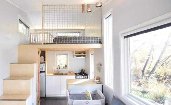 How One Couple Adapted A 204 Square Foot Tiny House For