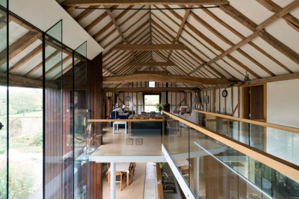 Barns Converted into Homes Interiors