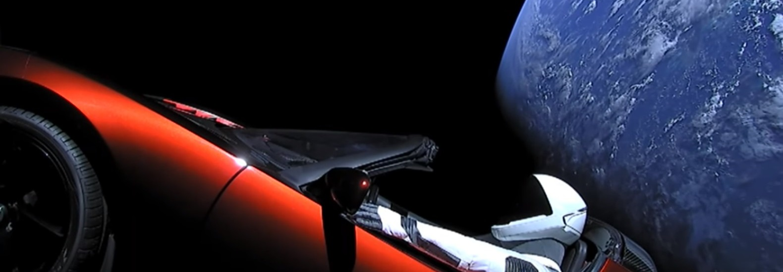 Car In Space Wallpaper Elon Musk Elon Musk Releases Historic Video Of Starman Cruising