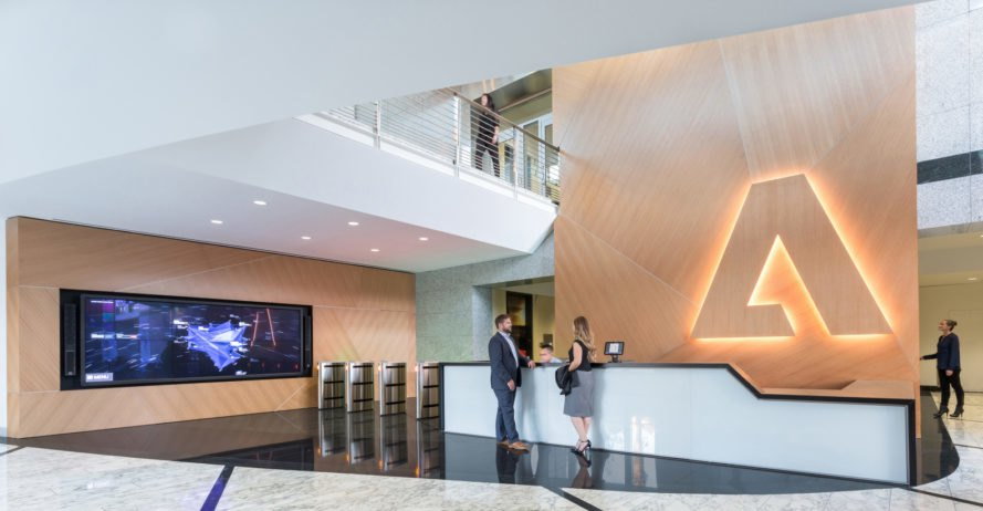 Adobes renovated headquarters channels the design giants