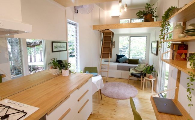 Tiny Swallowtail House On Wheels Is Ready For Future