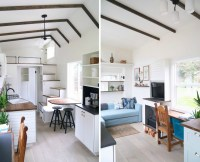 Handcrafted Movement's Coastal Craftsman tiny house is big ...