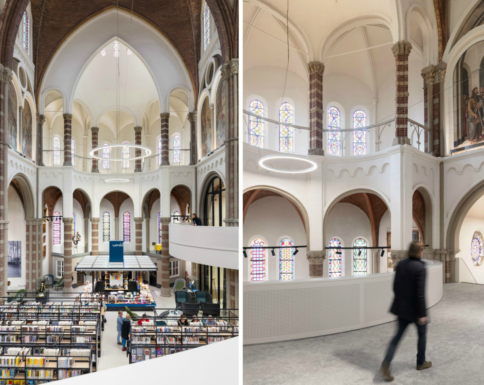 Architects convert old Dutch church into a gorgeous library  Inhabitat  Green Design