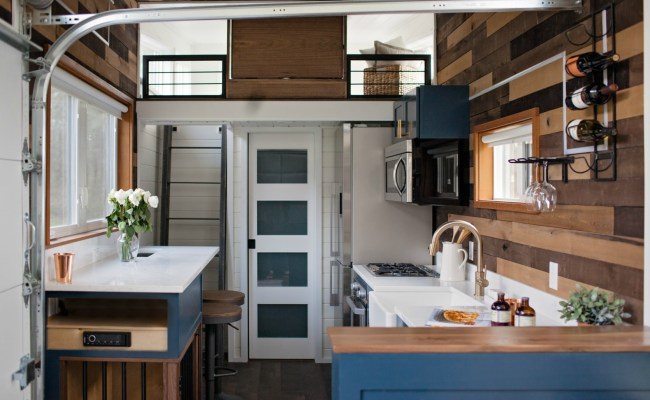 Tiny Heirloom Designs A Tiny Home That Transforms Into