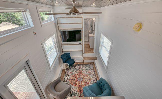 Alabama Tiny Homes Creates A Custom Tiny House With A