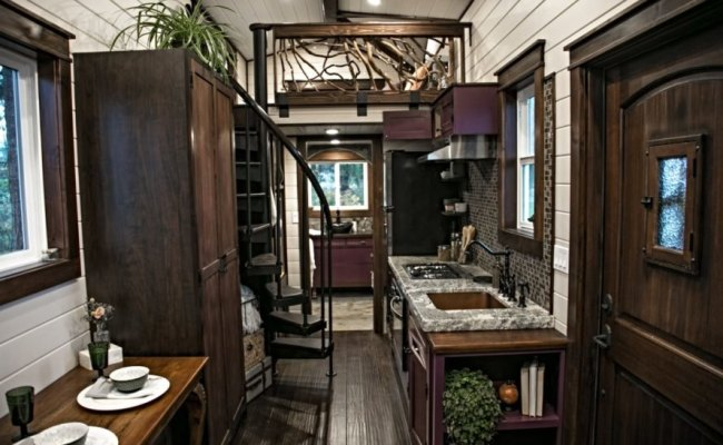 Tudor Inspired Tiny House Blends Old World Charm With