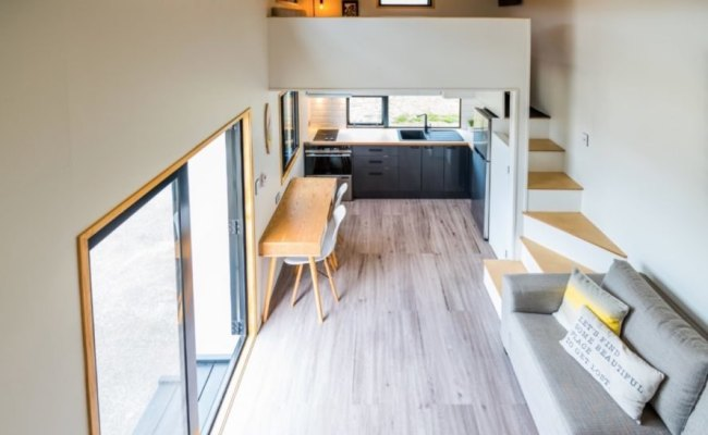 This Luxurious Tiny Home On Wheels Lets You Live Large In