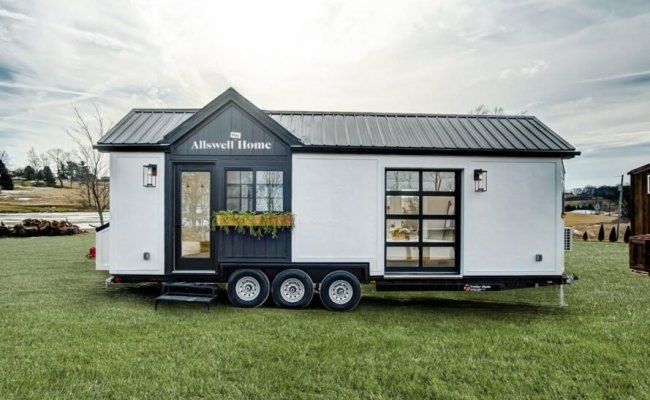 Walmart S Tiny Home On Wheels Is Embarking On A National Tour
